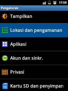 Cara mengaktifkan menu Kunci Ponsel Jarak Jauh Samsung