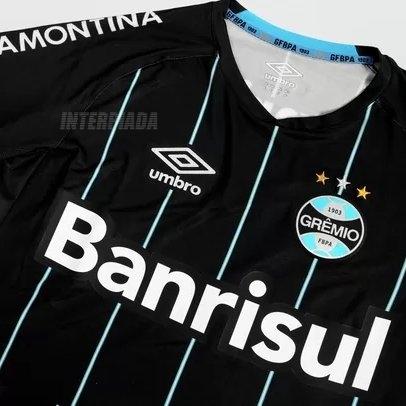 e0532d87d73a2 INTERPIADA  Vazou a nova Camisa Umbro Grêmio IV 2015