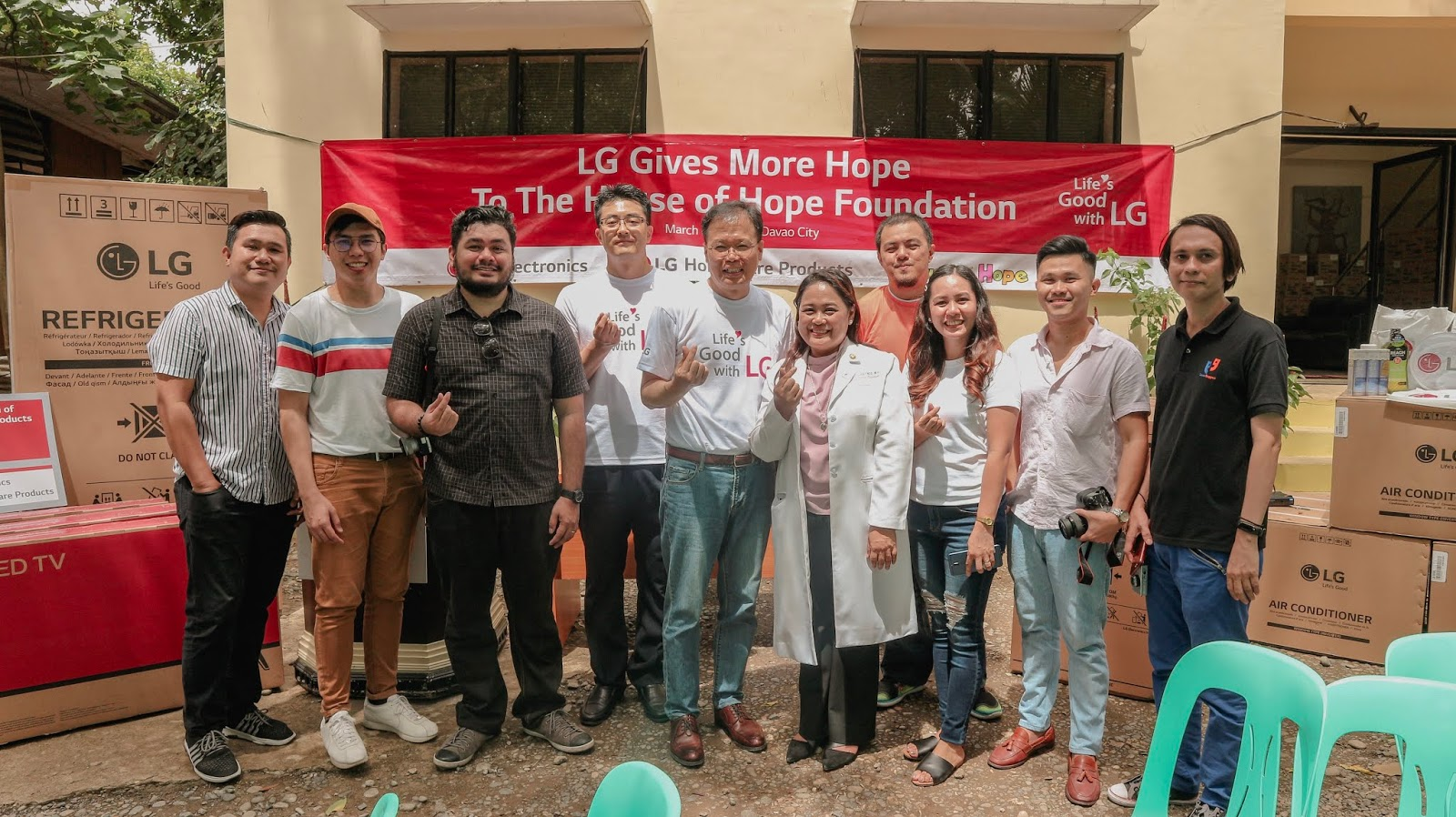 LG Electronics Philippines House of Hope Davao
