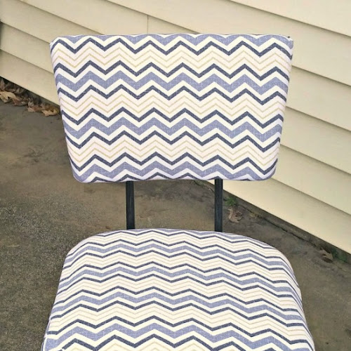 Mid-Century Dining Chairs Makeover