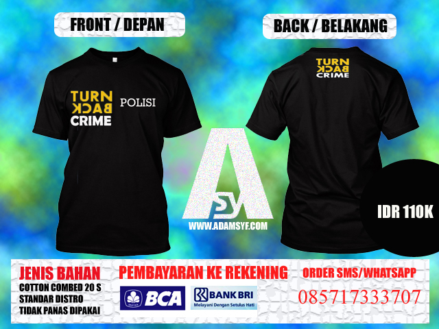 "Order Kaos ""TURN BACK CRIME"""