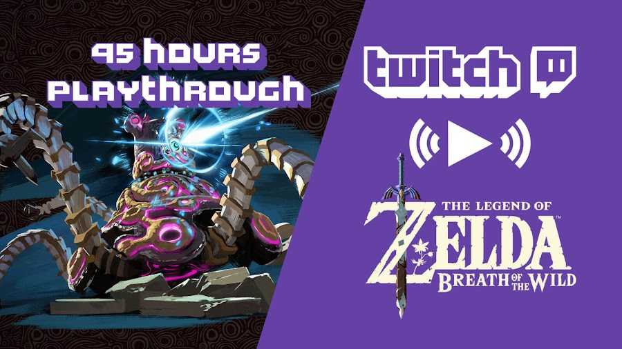 zelda breath of the wild tutorial negaoryx twitch stream