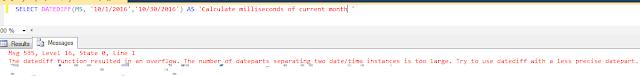 DATEDIFF_BIG in SQL SERVER 2016