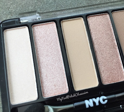 NYC New York Color Lovatics by Demi Lovato; Natural Eyeshadow Pallete