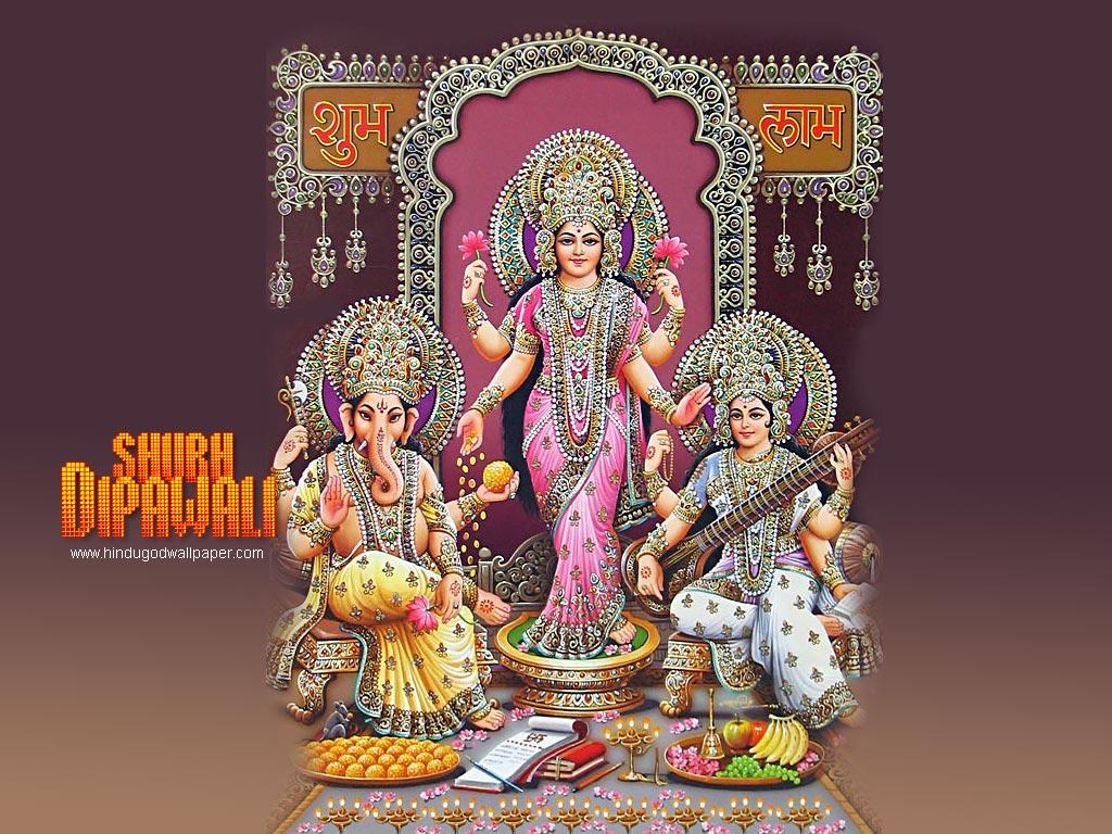 Ganesh Laxmi Saraswati Hindu God Wallpapers Free Download