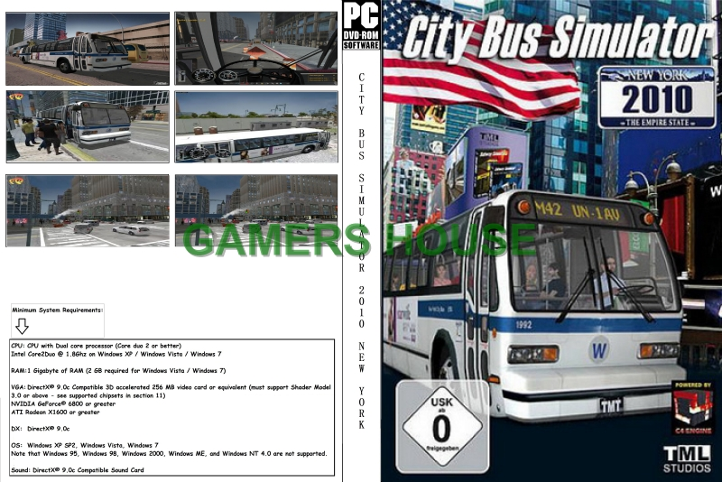 Our Back To 01-10-2012: City Bus Simulator 2010 New York
