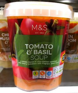 M&S Tomato & Basil soup