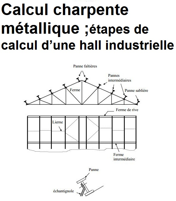 Plan de construction d 39 un hangar metallique pdf - Calcul d un hangar en charpente metallique ...