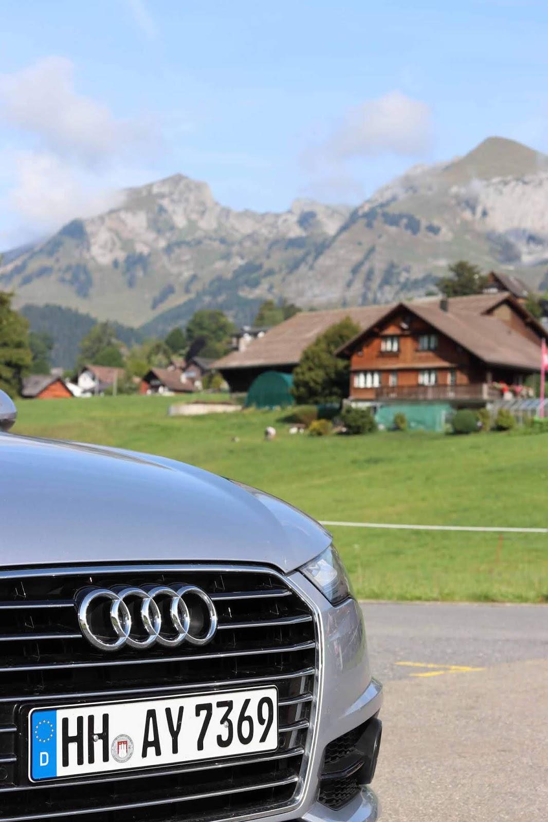 Audi A6 Alpit road trip