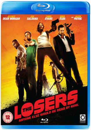 The Losers 2010 BluRay 300MB Hindi Dual Audio 480p Watch Online Full Movie Download bolly4u