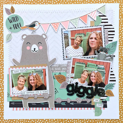 Giggle tracee provis papermaze kaisercraft hide and seek