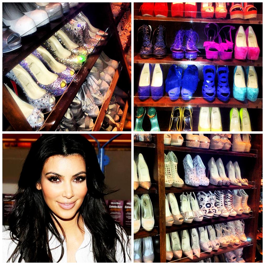 Kim Kardashian Shoe Closet Sho
