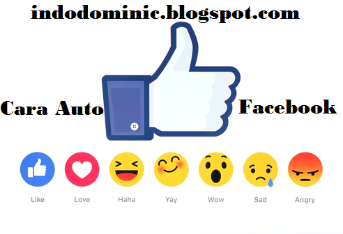 Cara Auto Like Status Facebook