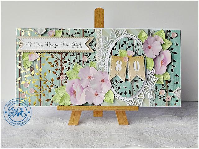 kartka urodzinowa / birthday card – DT Craft Passion