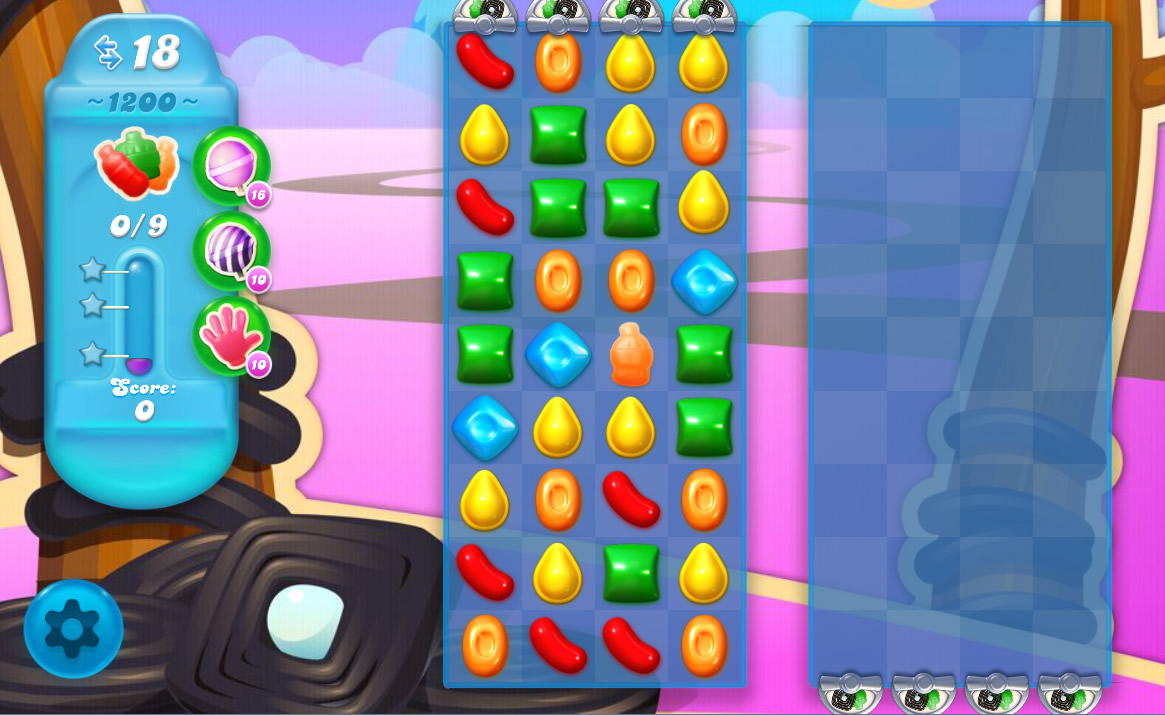 Candy Crush Soda Saga level 1200