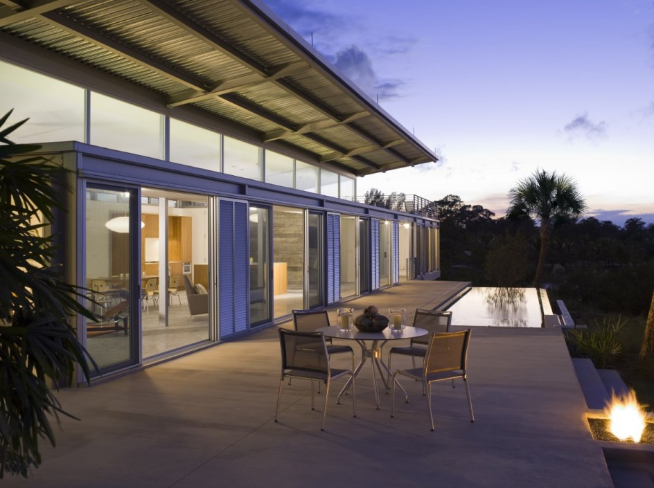 H2o Ski House Hobe Sound Umbanhowar Hughes Architects
