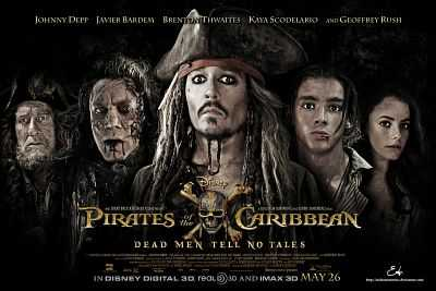 Pirates of the Caribbean Dead Men Tell No Tales 2017 Hindi - Telugu 300mb MKV