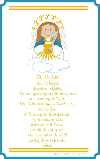 graphic about St. Michael the Archangel Prayer Printable titled Lifestyle, Delight in, Sacred Artwork: St. Micheal The Arch Angel No cost