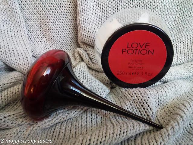 perfumowany krem do ciała oriflame love potion
