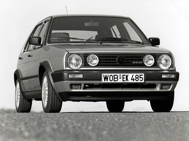 VW Golf Light - dimensões do Mk2