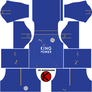 Leicester City 2016/17 - Dream League Soccer Kits and FTS15
