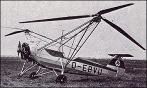 Focke Wolfe FW 61