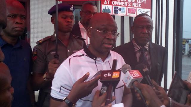 Dasuki didn't sponsor my election, I declared the N300m in my Zenith account– Fayose