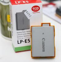 Baterai Canon LP-E5
