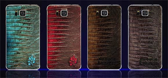 Exclusive Leather Backs for Samsung Galaxy Alpha