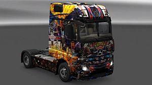Sunset Overdrive skins for All Trucks SCS