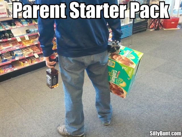 Funny Parent Starter Pack Picture