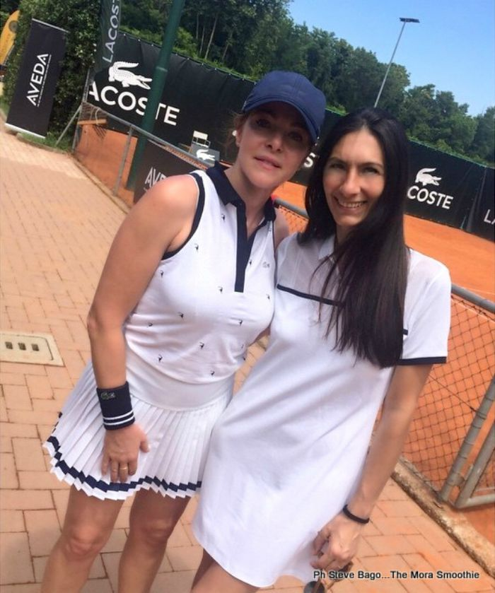 claudia gerini, paola buonacara, lacoste, beautifultennis, tennis, milano, lecoqsportif, ootd, outfit, look, lookoftheday, italianblogger, blogger italiana, blogger, fashionblogger, italian fashion blogger, fashion blogger italiana, shopping, shopping on line, dress, sneakers, scarpe, sport