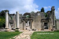 Руины древней синагоги в Бараме