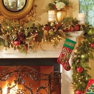 Decorar guirnaldas navideñas