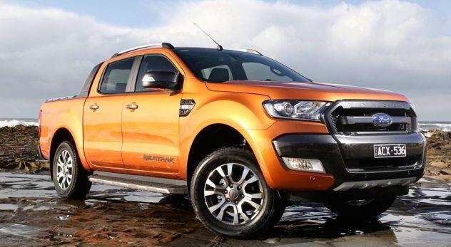 Ford Ranger tiến lên vị trí dẫn đầu những xe bán chạy nhất