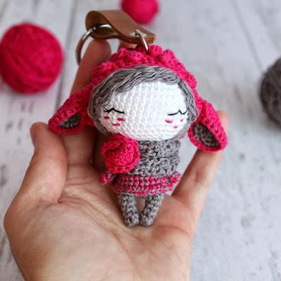 Куколка овечка крючком