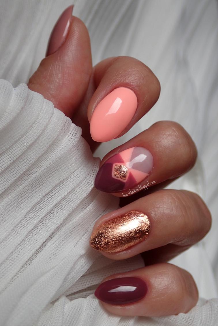 hybrid gold nails