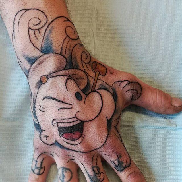 popeye tattoo