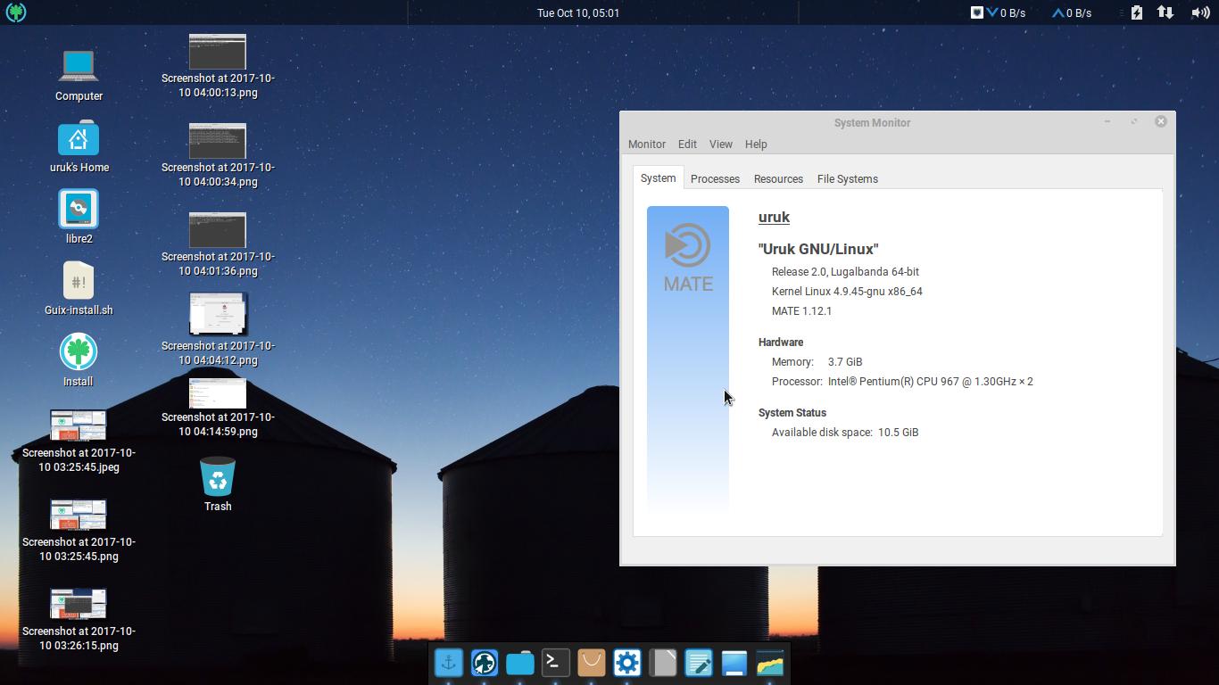 Quick Look to Uruk GNU/Linux