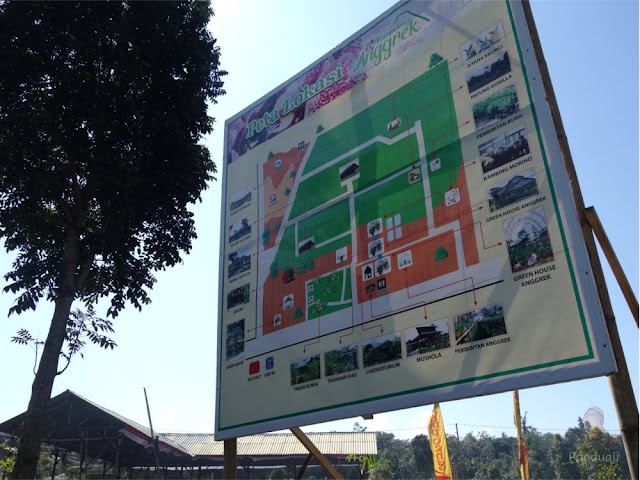 Peta Kampung Anggrek
