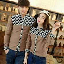 Model Baju Couple Wanita dan Pria Untuk Kerja Terbaru