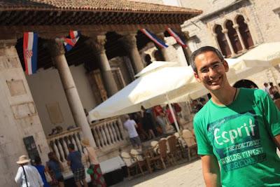 Loggia in Trogir
