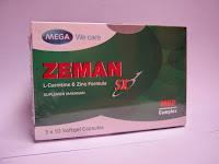 Suplemen / vitamin yang membantu Pembentuk Otot, Zeman sx