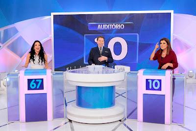 Rafaella, Silvio e Mara (Crédito: Lourival Ribeiro/SBT)
