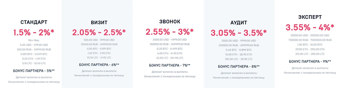 Инвестиционные планы Niron Shopping