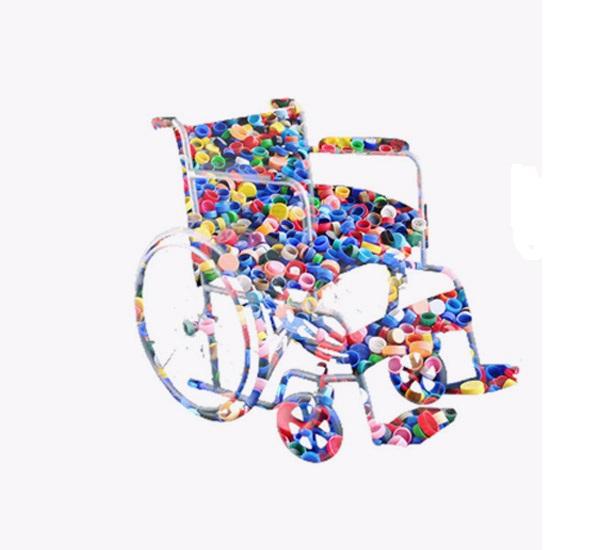 9 τα αναπηρικά αμαξίδια της δράσης συλλογής πλαστικών πωμάτων στο Ναύπλιο