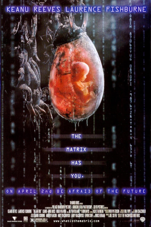 The Geeky Nerfherder: Movie Poster Art: The Matrix (1999)