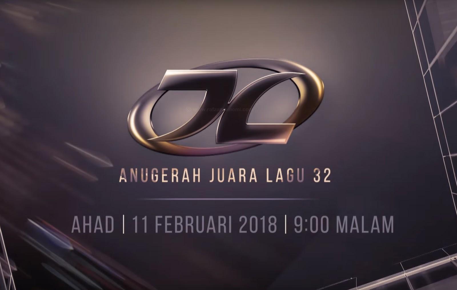 Anugerah Juara Lagu 32 (AJL 32) | Senarai Lagu & Keputusan Anugerah Juara Lagu Ke-32