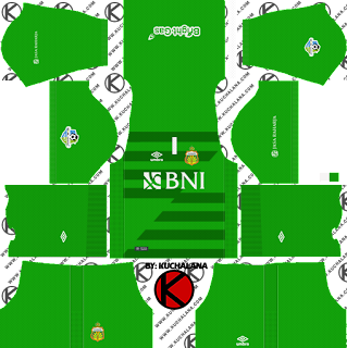 Bhayangkara FC 2018 Kit - Dream League Soccer Kits