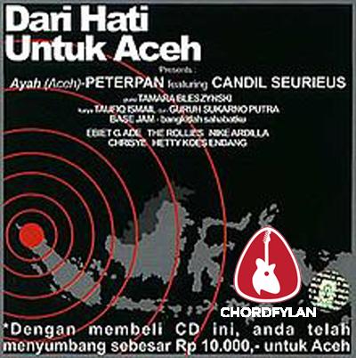 Lirik dan chord Ayah - Peterpan ft. Candil